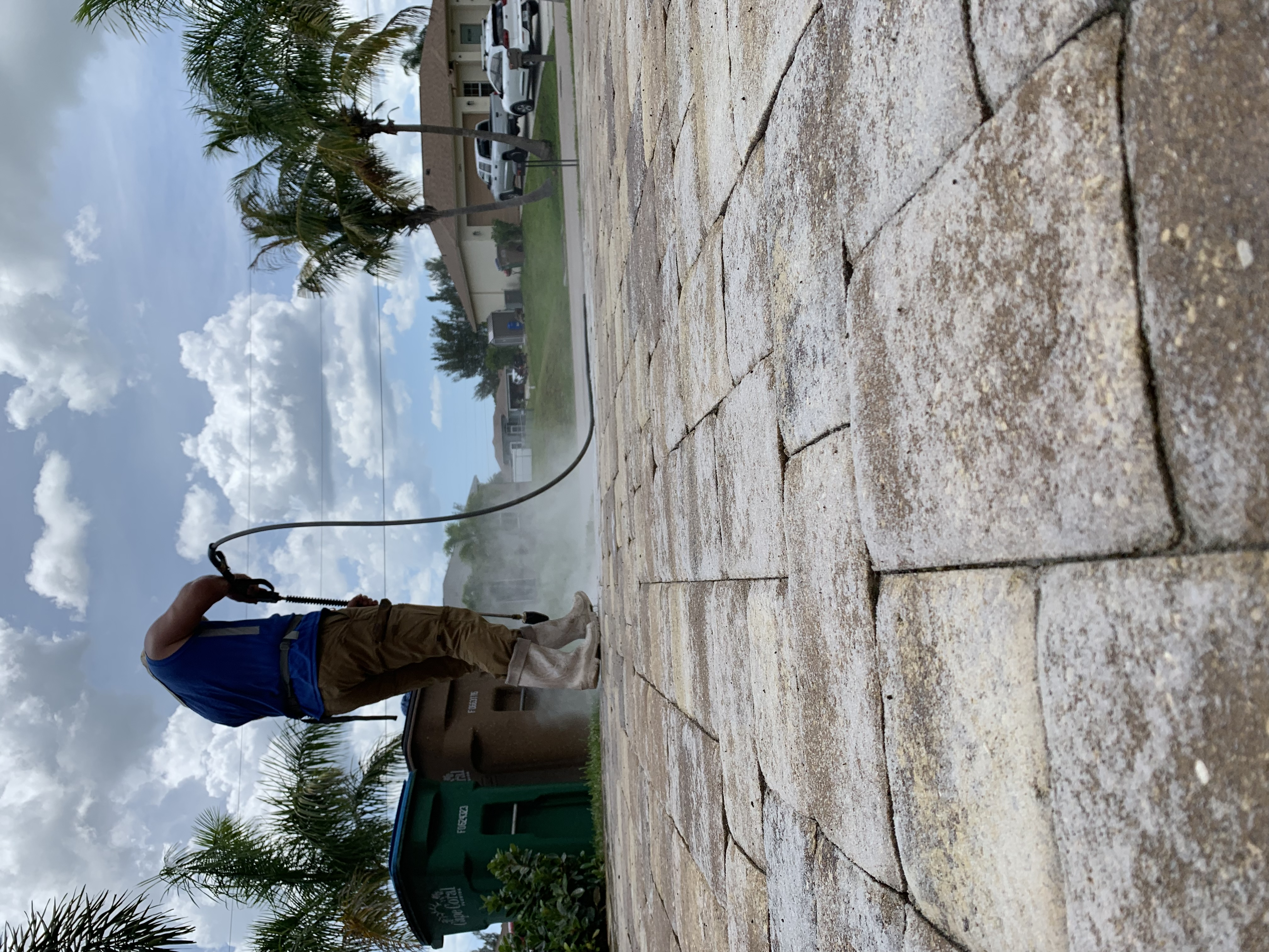 Paver Sealing Cape Coral