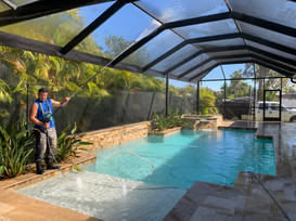 Pool Cage Cleaning Cape Coral