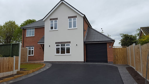 Micklehome drive, Alrewas, new build, larchwood developments