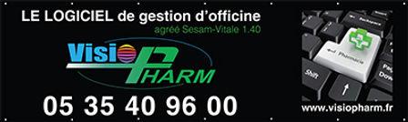 FAB USB FOOT - VISIOPHARM - 3000x900mm-
