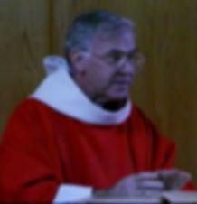 Fr. Paul Plante preaching