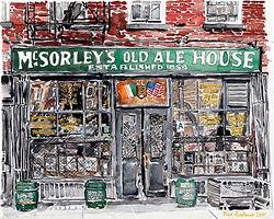 Art  + Design_McSorley's Old Ale House (