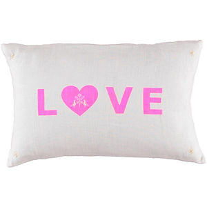 HomeGoods_Cushion - Love Pink on white_A