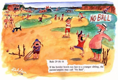Peter Nicolson Cartoon from The Australian