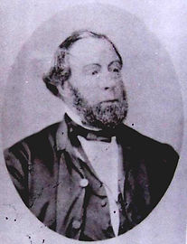 James Charles Coke, from an 1847 photograph taken in Adelaide
