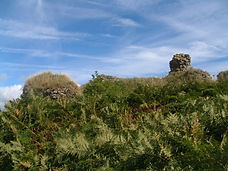 Kenfig Castle remains