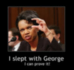 What did Condoleezza Rice see in Dubya?