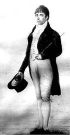James Coke Senior, from an 1804 oli painting