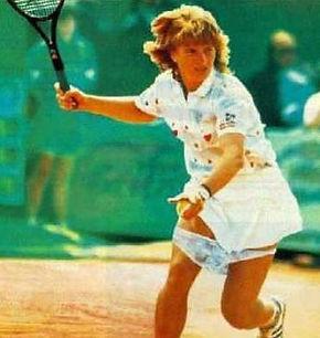 Tennis knicker shot