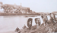 Coracles on Afon Tywi