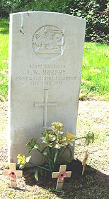 Rifleman 47041, CW Murphy of the Monmouthshire Regiment - war grave in Glanrhyd Hospital