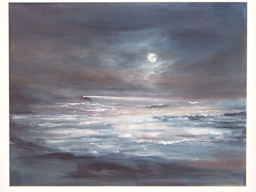 A LIGHT SHINES, oil painting by Jo Kimpton