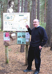 Looking for the Martian on Horsell Common, Surrey