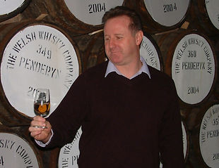 Stephen Davies, Managing Director of The Welsh Whisky Co