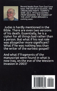 The Gospel According to St Judas - back cover