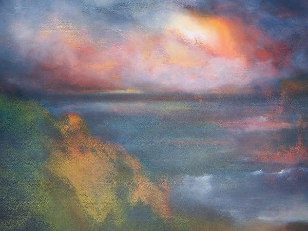 LOOKING WEST, painting by Jo Kimpton