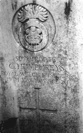 Charles Henry Humphreys' Gravestone