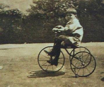 Ivor John Humphreys on Tricycle