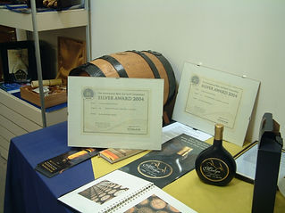 Awards gained n the early years of Penderyn whisky