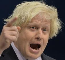 Angry Fat Boris Johnson