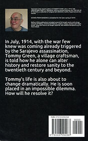 Tommy's War: July 1914 - Back Cover