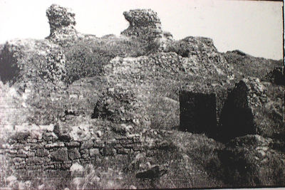 Kenfig Castle in the Nineteen-twenties