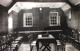 The room above The Prince of Wales PH, used for meetings of Kenfig Corporation