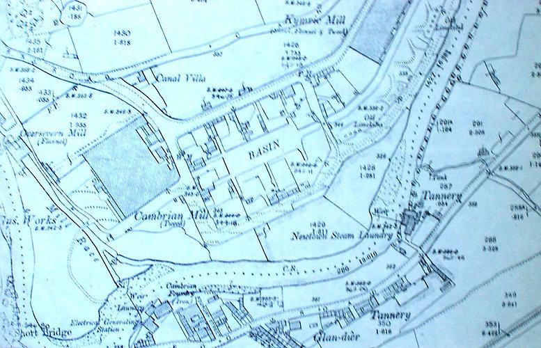 Canal Basin, Llanllwchaiarn, Newtown