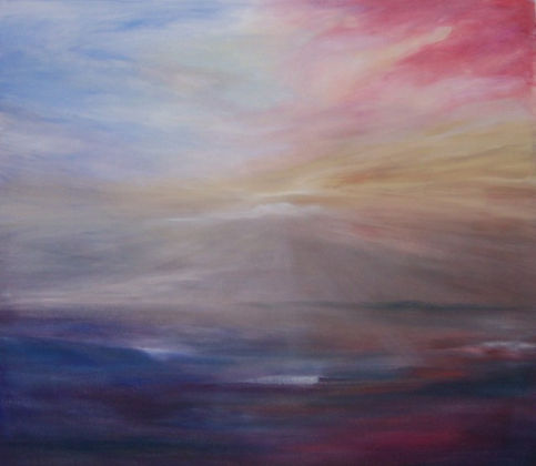 To See a World, oil painting by Jo Kimpton