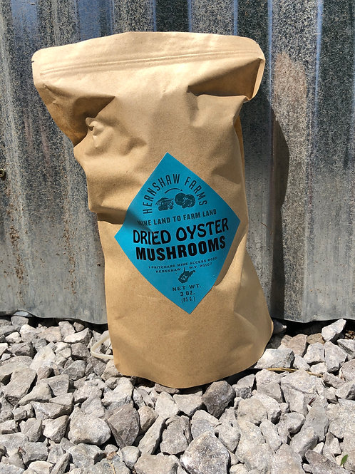 Gourmet Dried Oyster Mushrooms