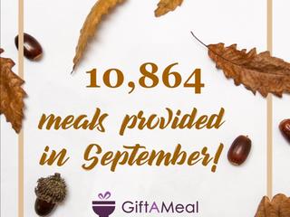GiftAMeal Top Restaurants: September 2018