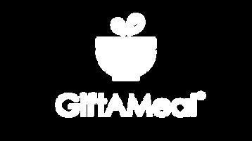 GiftAMeal Logo White Center
