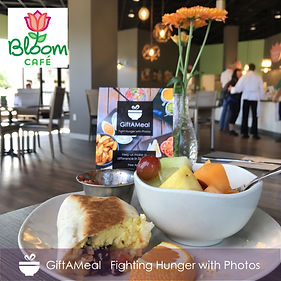 Enjoying a delicious breakfast at Bloom