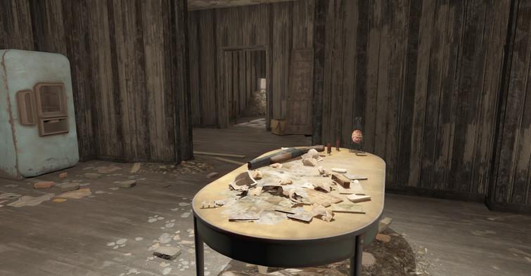 Living room in raider shack