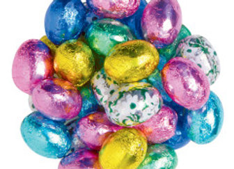 Assorted Foil Egg Chocolates (1/4 Lb)