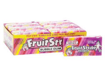 Berry Fruit Stripe Gum