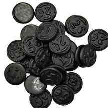 Salted Licorice Coins