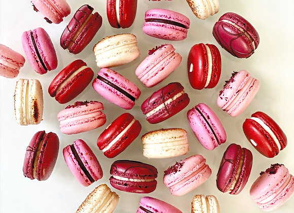Pre-Sale Valentine French Macarons