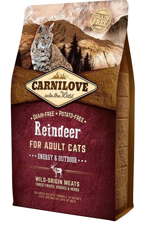 Carnilove Cat Raindeer - Energy & Outdoor