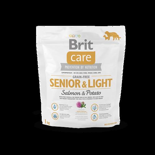 Brit Care Grain-free Senior & Light Salmon & Potato1kg
