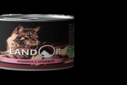 Вологий корм для стерилізованих котів індичка з журавлиною