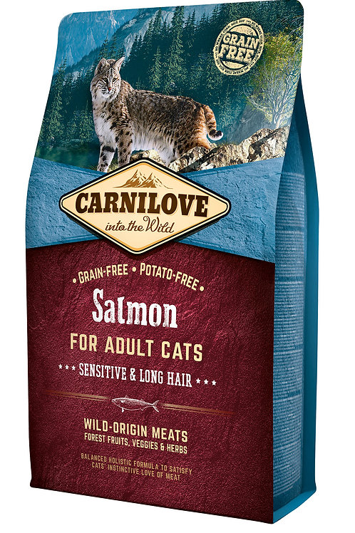 Carnilove Cat Salmon - Sensitive & Long Hair