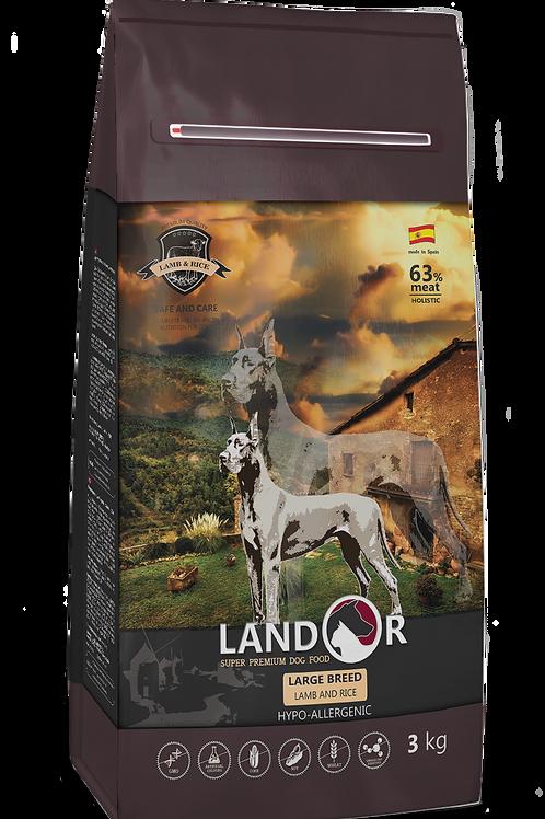 Корм для собак великих порід Adult Large Breed Ягня з рисом
