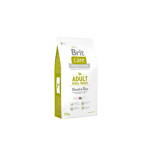 Brit Care Adult Small Breed Lamb & Rice 7.5kg