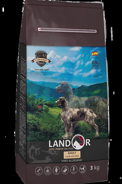 Сухий корм для собак всіх порід Adult Ягня з рисом