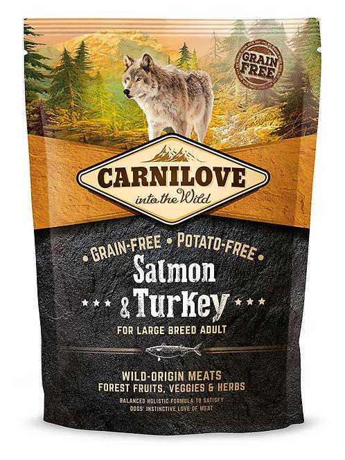 Carnilove Salmon & Turkey Large Breed для собак великих порід Лосось з індичкою