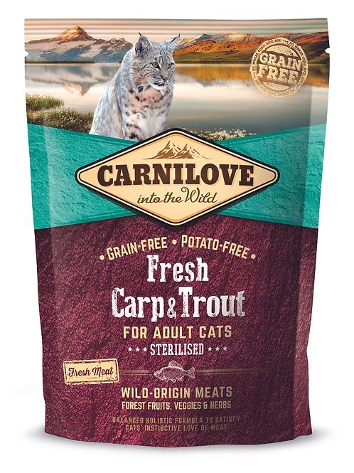 Carnilove Fresh Carp & Trout – Sterilised 400g