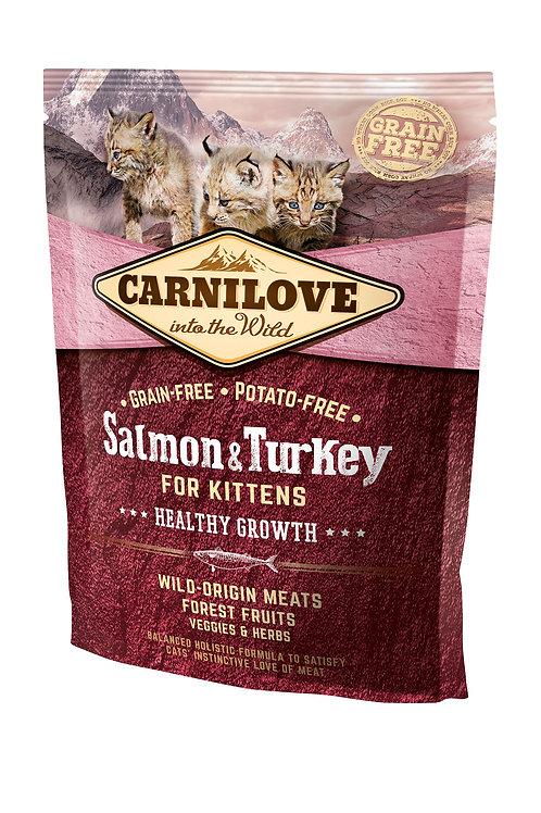 Carnilove Cat Salmon & Turkey Kitten для кошенят лосось з індичкою