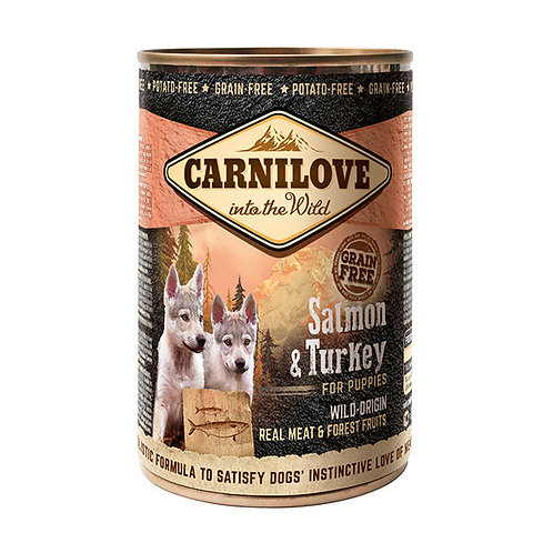 Carnilove Puppy з лососем та індичкою для цуценят