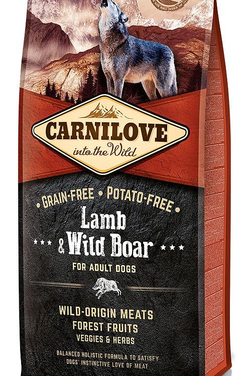 Carnilove Adult Lamb & Wild Boar для дорослих собак Ягня з диким кабаном